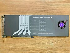 Sonnet Storage controller M.2 NVMe Card RAID 0 5 FUS-SSD-4X4-E3