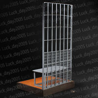 """Toy Model Move Diorama Metal Prison Scene 1/6 Fit for 12"""" Action Figure"""