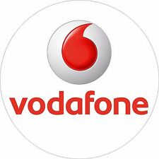 Vodafone Mobile Phone Network POS Stickers, Decal cut 12mm Vinyl Label Qty: 98