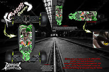 LOSI 8IGHT-T 4.0 CHASSIS WRAP KIT 'LUCKY' HOP UP DECAL SET FITS OEM PARTS GREEN
