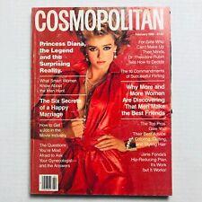 Vintage Cosmopolitan Magazine February 1985 - Vanessa Angel - Francesco Scavullo