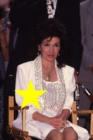Annette Funicello 1993 Photo SLIDE Hollywood Walk of Fame Disney Mouseketeer