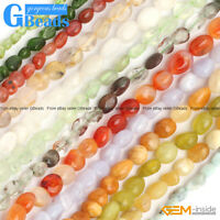 Wholesale 6x8mm Freeform Potato Nugget Beads For Jewelry Making Free Shipping
