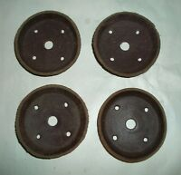 "4 Silica Leather Pump Plunger Replacement Parts--2"" Diameter--1/16"" Thick"