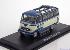 1:43 Schuco Mercedes O 319 bus blue/creme  Ltd.1000