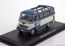 1:43 Schuco Mercedes O 319 bus blue/creme  Ltd.1000