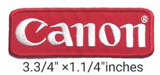 Red canon Camera  Logo  iron on ,sewing on,Patch on,decorate on  Fabric
