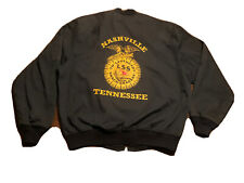 Rare Vintage TH' LEGENDARY SHACK SHAKERS Tour FFA Jacket NASHVILLE HANK III VTG