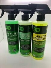 All Round Cleaner Bundle - 1 MONTH OFFER - 3D Products Car Care Bundle
