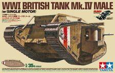 TAMIYA 1/35 WWI Tanque Británico mk.iv macho con / Sencilla MOTOR #30057