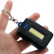 Mini Portable 3Mode Pocket COB Worklight Light LED Flashlight Torch Key chain