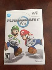 Mario Kart Wii Nintendo Wii Case & Disc TESTED  Works Great NG3