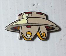 "Vintage Invaiders Spaceship 1.25"" Cloisonne Pin (WWPI-LoG)"