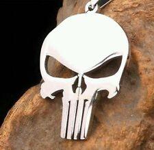 The Punisher Skull Emblem Key Chain Pendant Marvel Comic Book Memorabilia Gift