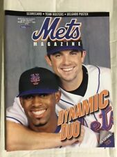 NY Mets Programs - Your Choice UNSCORED $15 to $25 , SCORED..$5