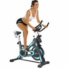 Cyclette Spinning Bike Allenamento Bici Cardio Fitness Bicicletta Palestra Blu