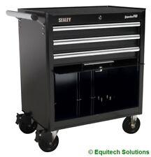 Sealey AP33439B Rollcab Roll Cab Tool Box Chest Roller Cabinet Black