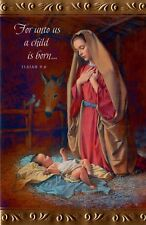 Christmas Mary With Baby Jesus Religious Christian Holiday Greeting Cards