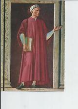 Dante Alighieri Painting , Author of the Inferno Postcard