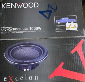 "Kenwood eXcelon KFC-XW1000F eXcelon 10"" Shallow Mount Car Subwoofer Brand NEW"