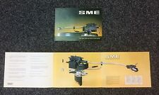 SALES BROCHURE FOR SME III TONEARM FROM THE NOS MULTI FOLD OUT COPY