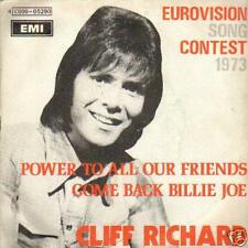 eurovision SINGLE 45 CLIFF RICHARD POWER TO ALL FRIENDS