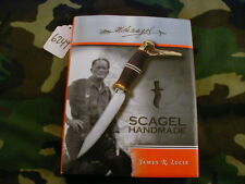 """NEW RANDALL KNIFE KNIVES """"SCAGEL HANDMADE"""" BOOK BY JAMES LUCIE   #6249"""