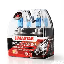 Limastar H3 12V 55W Xenon White Halogen Headlight Bulbs 6000k 453 PK22s (PAIR)
