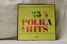 VARIOUS - 25 MILLION SELLER POLKA HITS - 2X VINYL LP BOX SET *VG*