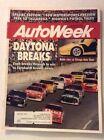 Autoweek Magazine Magazine Daytona Breaks Diablo February 26, 1990 011717RH