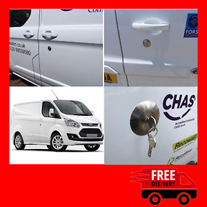 Ford Transit Custom 2012> Rear Slamlock Van Security Kit And Hykee Lock