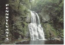 Postcard Pennsylvania waterfall All Seasons Collection