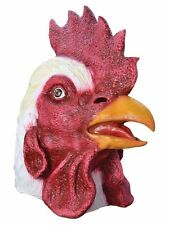 Latex Animal Head Farm Rooster Chicken Cockerel Fancy Dress Stag Hen Party Mask