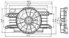Global Parts Distributors 2811497 Radiator Fan Assembly