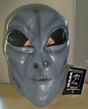 UFO SPACE GREY GRAY ALIEN MONSTER MASK COSTUME NEW MI9812