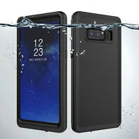 Waterproof Rugged Case with Built in Screen Protector for Samsung Galaxy Note 8