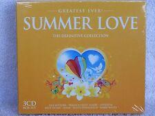 VARIOUS GREATEST EVER SUMMER LOVE 3 CD SET - FREE UK P&P