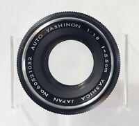 Vintage Pentamatic Lens - Yashica Auto Yashinon 55mm f1.8 - Pentamatic-Mount