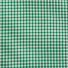 Tissu de Coton à Carreaux Blanc Vert 9mm