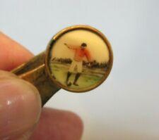 Antique THE PROPELLER England Money Clip Football Soccer Player Celluloid Photo