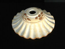 tazzina in ceramica grezza  per lampadario decorata ricambio sostituzione