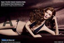 1/6 Phicen Super-Flexible Steel Skeleton Seamless Tan Mid Body PLMB2014-S02
