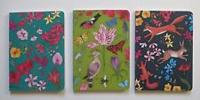 f Call of the Wild fox set of 3 NOTEBOOK Journal blank book 80 pg Roger la Borde