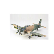 61073 Tamiya A-1J Skyraider U. S. Air Force 1/48th Plastic Kit 1/48 Aircraft