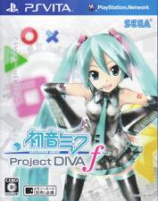 [FROM JAPAN][PSVITA] Hatsune Miku Project DIVA f / Sega [Japanese]