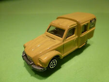 MAJORETTE 235 CITROEN ACADIANE - POST MAIL - 1:60 - RARE SELTEN - GOOD CONDITION