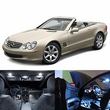 LED White Lights Interior Package Kit For Mercedes SL 2003-2007 (10 pcs)