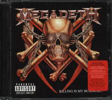 Megadeth - Killing Is My Business CD - SEALED Thrash Metal Album