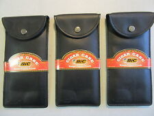 New Bic Cigar Pouch Snap Case holds 2 To 3 Cigars,Vapor or Medical Herb Protecti