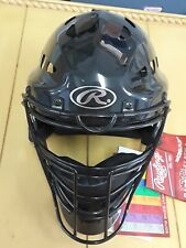 New! Rawlings Cfa2 Youth Hockey Style Catchers Helmet / Mask - Black